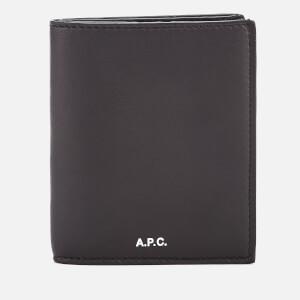 A.P.C. Men's Bifold Cardholder - Black