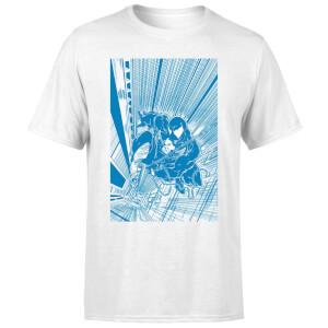 Venom Comic Panel Men's T-Shirt - White