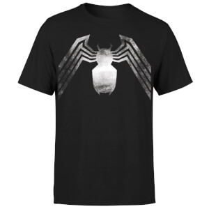 Venom Chest Emblem Men's T-Shirt - Black