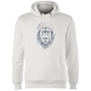 Balazs Solti Lion Hoodie - White