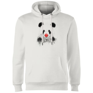 Balazs Solti Red Nosed Panda Hoodie - White