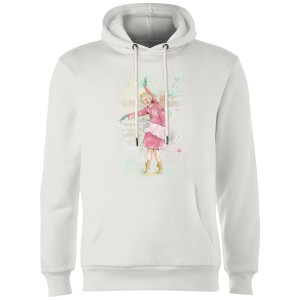 Balazs Solti Dancing Queen Hoodie - White