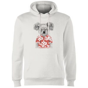 Balazs Solti Koala Bear Hoodie - White