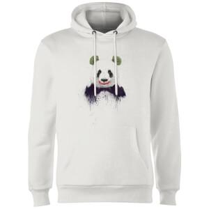 Balazs Solti Joker Panda Hoodie - White