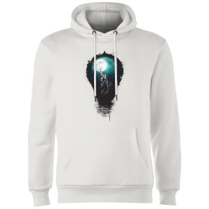 Balazs Solti NYC Moon Hoodie - White