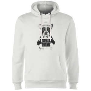 Balazs Solti Winter Is Boring Hoodie - White
