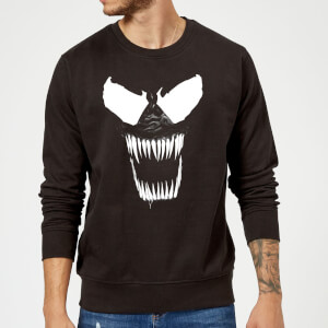 Venom Bare Teeth Pullover - Schwarz
