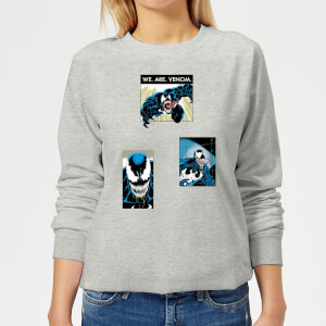 Venom Collage Women's Sweatshirt - Grey