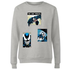 Venom Collage Women's Sweatshirt - Grey