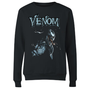 Venom Profile Women's Sweatshirt - Black