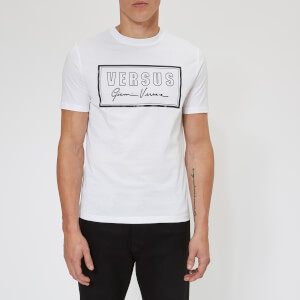 Versus Versace Men's Signature Logo T-Shirt - White