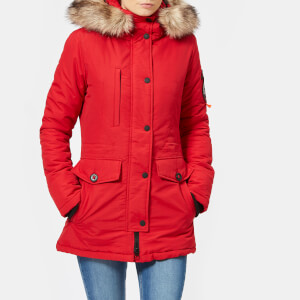 Superdry Women's Ashley Everest Coat - Red
