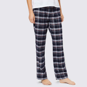 Superdry Women's Millie Loungewear Pants - Navy Check
