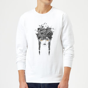 Balazs Solti Native Girl Sweatshirt - White