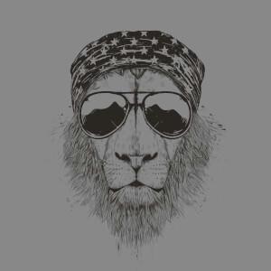 Balazs Solti Bandana Lion Sweatshirt - Grey