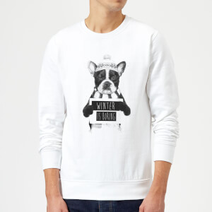 Balazs Solti Winter Is Boring Sweatshirt - White