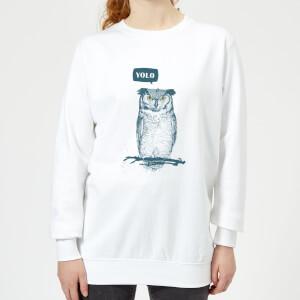 YOLO Women's Sweatshirt - White