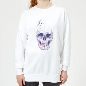 Lost Mind Women's Sweatshirt - White