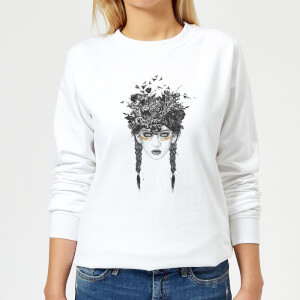 Native Girl Women's Sweatshirt - White