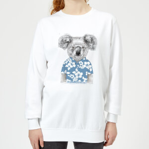 Koala Bear Women's Sweatshirt - White