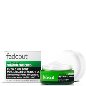 Fade Out Advanced + Vitamin Enriched Moisturiser for Men SPF 25 -kosteusvoide, 50ml