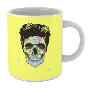 Balazs Solti Colourful Skull Mug