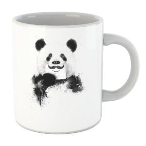 Balazs Solti Moustache And Panda Mug