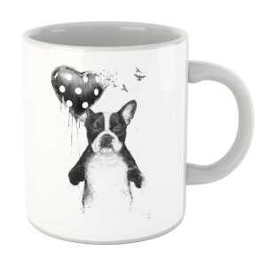 Balazs Solti Bulldog And Balloon Mug