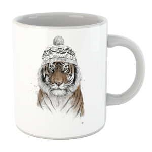 Balazs Solti Winter Tiger Mug