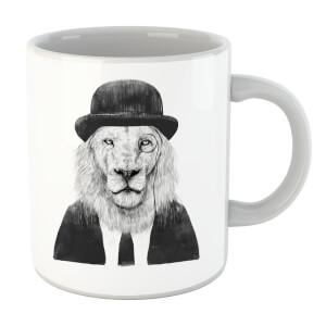 Balazs Solti Monocle Lion Mug