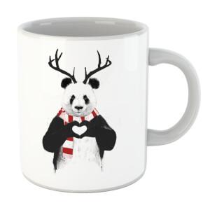 Balazs Solti Winter Panda Mug