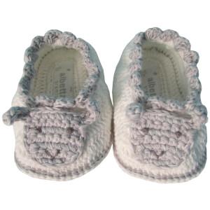 Albetta Crochet Samy Sheep Booties