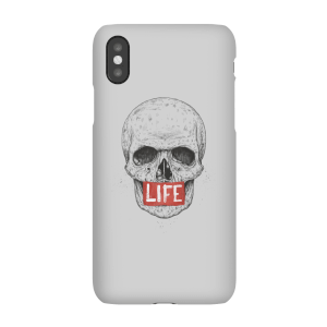 Balazs Solti Life Skull Phone Case for iPhone and Android