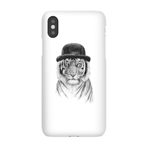 Balazs Solti Tiger In A Hat Phone Case for iPhone and Android