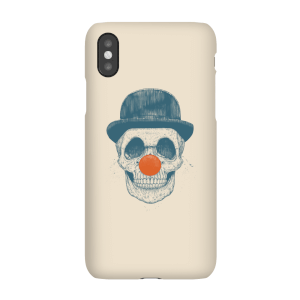 Red Nosed Skull Phone Case for iPhone and Android