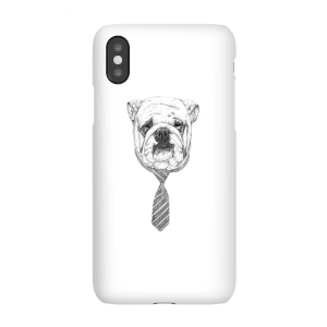 Balazs Solti Suited And Booted Bulldog Phone Case for iPhone and Android