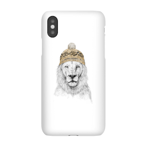 Balazs Solti Lion With Hat Phone Case for iPhone and Android