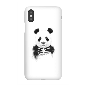 Balazs Solti Skull Panda Phone Case for iPhone and Android