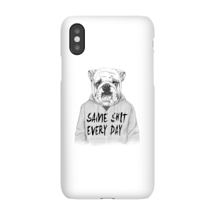 Balazs Solti Same Shit Every Day Phone Case for iPhone and Android
