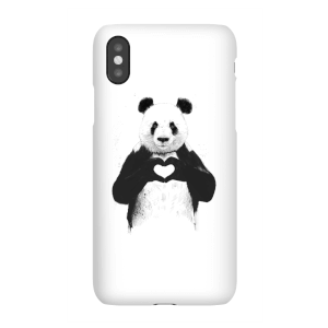 Balazs Solti Panda Love Phone Case for iPhone and Android