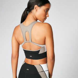 Power Deluxe Sports Bra - Black