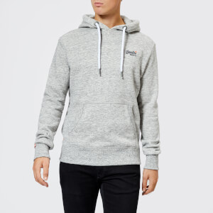 Superdry Men's Orange Label Hoody - Pacific Grey Grit