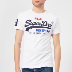 Superdry Men's Vintage Logo Tri T-Shirt - Optic