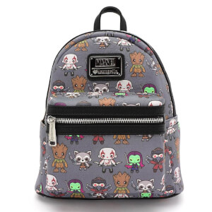Mini Sac à Dos Faux-cuir Loungefly Marvel Guardians of the Galaxy Kawaii