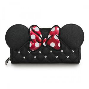 Disney Loungefly Cartera Minnie Mouse con Lazo y Orejas