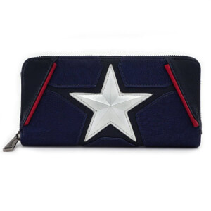 Loungefly Marvel Captain America Zip-Around Wallet