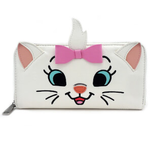 Loungefly Disney Marie Big Face Zip Around Wallet