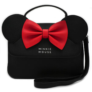Loungefly Disney Minnie Mouse Cross Body Bag with Ears and Bow