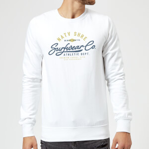 Sweat Homme Athletic DEPT. Native Shore - Blanc