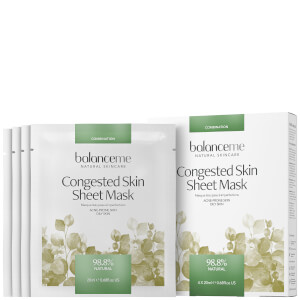 Balance Me Congested Skin Sheet Mask (4 x 20ml)